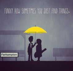 Ted and Tracy I loved this scene it will forever be one of my factories they are such a great couple you can just tell ❤️ Ted And Tracy, Easy To Love, My Love, Ted Mosby, Yellow Umbrella, Himym, How I Met Your Mother, I Meet You, Tv Quotes