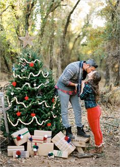 Couples first Christmas photo idea!