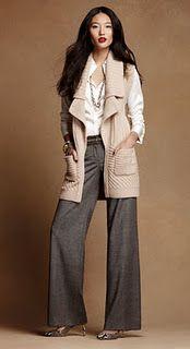 Easy V-Neck Sweater Dress, black leggings, ankle boots! | Ladies ...