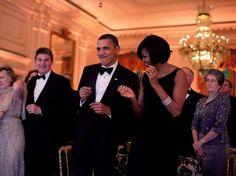 Obamovci sa zabávajú naplese guvernérov.