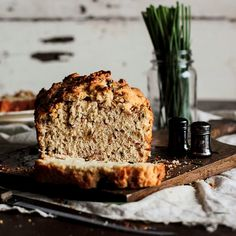 Pastry Affair - Bacon & Chive Beer Bread.