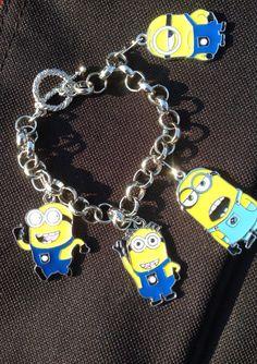 minion-charm-bracelet