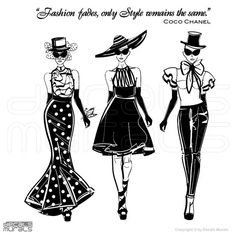 Items similar to Wall decals FASHION MODELS with Coco Chanel quote Surface graphics interior decor by Graphics Mesh on Etsy Coco Chanel Mode, Estilo Coco Chanel, Coco Chanel Fashion, Coco Chanel Quotes, Chanel Style, Fashionista Quotes, White Elegance, Fade Styles, Love Posters