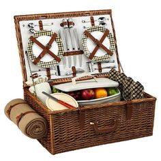 Dorset Picnic Basket Set
