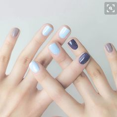 Nail Art Ideas To Dress Up Any Occasion – Your Beautiful Nails Shellac Nail Colors, Gelish Nails, Hair And Nails, My Nails, Fall Nails, Nail Art Vernis, Nagellack Trends, Manicure E Pedicure, Manicure Ideas