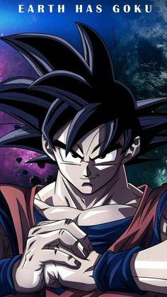 Goku, Dragon Ball Z and Earth has Goku Wallpaper Do Goku, Dragonball Wallpaper, Iphone Wallpaper, Manga Dragon, Animes Wallpapers, Fan Art, Akira, Color Pictures, Earth