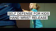 PETER WECKAUF | Self Defense for kids - hand wrist release | SAMICS
