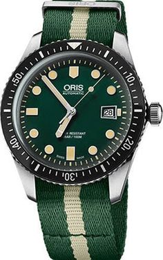 @oris  Watch Divers Sixty Five Nato #add-content #basel-17 #bezel-unidirectional #bracelet-strap-synthetic #brand-oris #case-material-steel #case-width-42mm #date-yes #delivery-timescale-call-us #dial-colour-green #gender-mens #limited-code #luxury #movement-automatic #new-product-yes #official-stockist-for-oris-watches #packaging-oris-watch-packaging #style-divers #subcat-divers #supplier-model-no-01-733-7720-4057-07-5-21-24fc #warranty-oris-official-2-year-guarantee #water-resistant-100m