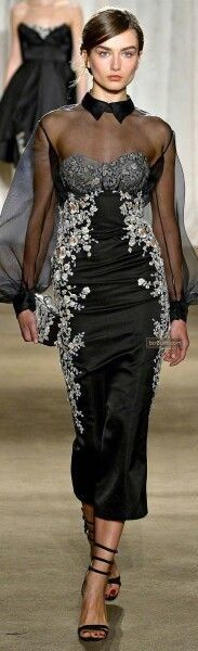Style Couture, Couture Fashion, Runway Fashion, Fashion Show, Fashion Design, Classic Fashion, French Fashion, Diy Fashion, Winter Fashion