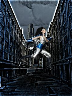 Nicole Linkletter - Fashion Superheroes - Photoshoot by  Michael Ruiz - Cycle 5.