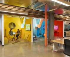 industrial iStrategyLabs | Architect Magazine | Wingate Hughes Architects, Washington, DC, USA, Office, Interiors