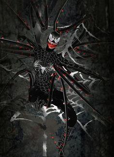 Spideman Must Die- Venom Villains PinkLostDoll
