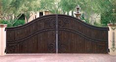 What an elegant entry gate!