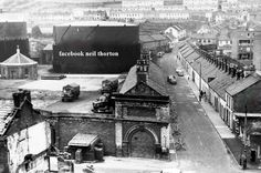 Stanley Walk Bogside Derry, In the early the British Army occupied the Old Gas yard. Old Images, Old Pictures, Northern Ireland Cities, Derry City, Michael Collins, Irish Eyes, British Army, Big Ben, Old Things