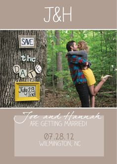 Engagement Photoshoot - Save The Date