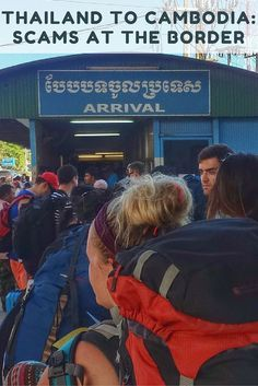 Thailand to Cambodia: Scams at the Border - The road from Bangkok to Siem Reap turned out to be paved with scam after scam after scam. Here are the scams we came across in our journey, how to avoid them, and our suggestion on the easiest way to cross from Bangkok to Siem Reap.