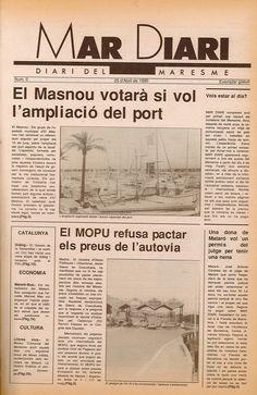 Mar Diari: diari del Maresme (1990). Complet. Informació general.
