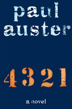 '4 3 2 1' by Paul Auster