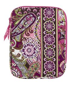 4e5a3d28ae1 Vera Bradley Very Berry Paisley Tablet Sleeve - secures your tablet when  you re on the go.