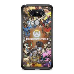 Overwatch Characters LG Case