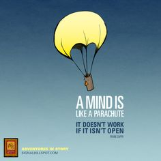 #FrankZappa #Parachute #Quote