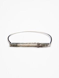 Free People Crystal Bar Bracelet, $88.00