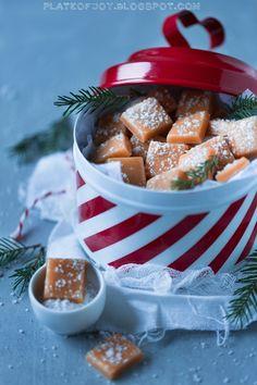 Plate of Joy: Fleur de sel caramels - Pyszne karmelki z wanilią i solą