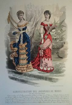 Administration des Journaux de Modes 1881