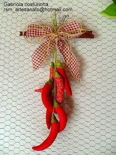 ♥♥ pendurico de pimenta ♥♥