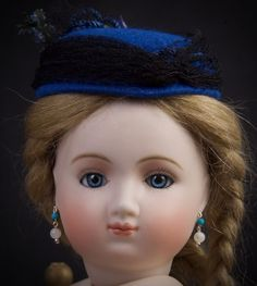 "15.5"" French Fashion/Lady Doll ""HURET"" with glass eyes by Branka Schärli!!!"