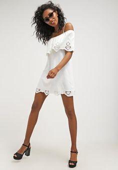 7280c0faa4 Topshop Sukienka z dżerseju - white za 189 zł (07.06.16) zamów bezpłatnie