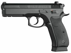 CZ 75 SP-01. DA/SA. 18+1 can be carried cocked and locked like a 1911. Steel frame