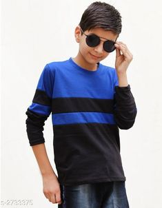 Tshirts & Polos Classy Kid's Boy's Cotton Blend T-Shirt Fabric: Cotton Blend Sleeves: Sleeves Are Included Size: Age Group (4 - 5 Years) - 24 in Age Group (6 - 7 Years) - 28 in Age Group (8 - 9 Years) - 30 in Age Group (10 - 11 Years) - 32 in Age Group (12 - 13 Years) - 34 in   Type: Stitched Description: It Has 1 Piece Of Kid's Boy's T-Shirt Pattern: Solid Country of Origin: India Sizes Available: 3-4 Years, 4-5 Years, 5-6 Years, 6-7 Years, 7-8 Years, 8-9 Years, 9-10 Years, 10-11 Years, 11-12 Years, 12-13 Years   Catalog Rating: ★4 (2649)  Catalog Name: Classy Kid's Boy's Cotton Blend T-Shirt's Vol 4 CatalogID_370464 C59-SC1173 Code: 852-2733375-285