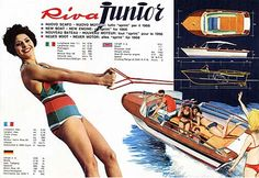 """Luxury Yachts - Riva Yacht 170 - Timeline - The """"Dolce Vita"""" Riva Yachts, Luxury Yachts, Riva Boot, Chris Craft Boats, Runabout Boat, Classic Wooden Boats, Cabin Cruiser, Boat Fashion, Vintage Boats"""