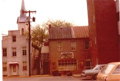 La Paz mexican restaurant in 1981, Frederick, Maryland -