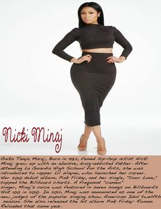 nicki minaj w/ mini bio
