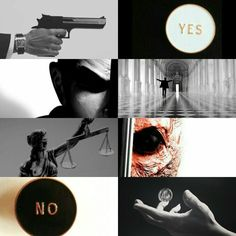 Harvey Dent Two-Face aesthetic