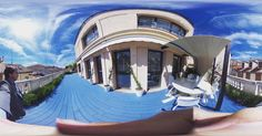 An awesome Virtual Reality pic! #casadecor #luxury #interiordesign #rooftop #penthouse #realestate #architecture #blue #sky #sun #madrid #interiorismo #diseñointerior #arquitectura #mediterranean #lifestyle #360 #360camera #panorama #virtualreality #design #style #decor #fashion  #landscape #home #realtor #designer #architect by allianzing check us out: http://bit.ly/1KyLetq