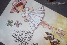 Paper Doll Art Journal Page | June 2014