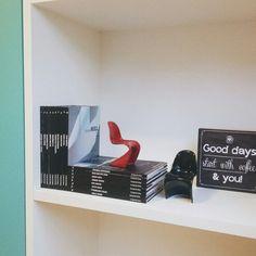 CDA office #details #office #cdaprojetos #blogcasadasamigas #turquoise