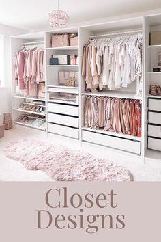 Wardrobe Room, Wardrobe Design Bedroom, Master Bedroom Closet, Room Design Bedroom, Room Ideas Bedroom, Home Room Design, Dressing Room Design, Ikea Dressing Room, Closet Renovation