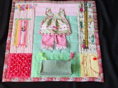 Busy Seamstress  Fidget Quilt  Sensory  by EndearingDignite