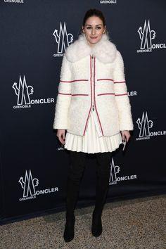 Olivia Palermo at New York Fashion Week