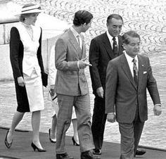 Diana & Charles - Japan _  Empire of the Sun  (09 mai 1986 )