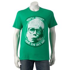 A Christmas Story You'll Shoot Your Eye Out Kid Tee - Men $7.99