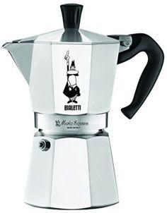 Bialetti 6-Cup Stovetop Espresso Maker #Bialetti