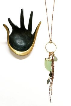 Tusk + Tassel Necklace - New Jade – TOODLEBUNNY