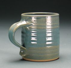 Sea Green Large Mug by oakbluffspottery  (Ray Bub.) on Etsy, $22.00