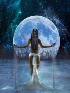 Every woman has her seasons, and the Triple Goddess is representative of this. Let's find out more about the Maiden, the Mother, and the Crone and how we can connect with the Triple Goddess in all three forms. Isis Goddess, Goddess Art, Moon Goddess, Triple Goddess, Nut Goddess, Aphrodite Goddess, Goddess Of Nature, Egyptian Goddess Tattoo, Oshun Goddess