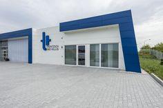 Neubau Gewerbe mit Büro als Manufaktur für Werkzeuge.